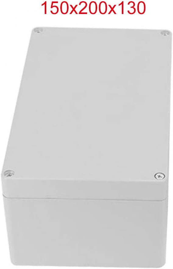 Carcasa de plástico MASO IP65 ABS blanco resistente a la intemperie exterior /caja de conexiones de alimentación externa completa con conector, blanco: Amazon.es: Bricolaje y herramientas