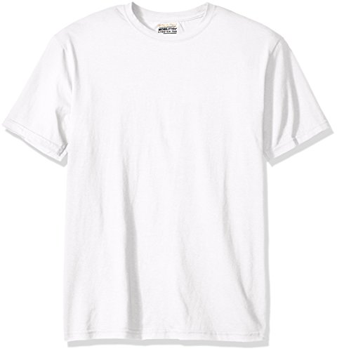 Gold Toe Men's Cotton Stretch T-Shirt, White, X-Large (Gold And White Shirt)