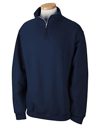 Jerzees boys 8 oz. 50/50 NuBlend Quarter-Zip Cadet Collar Sw