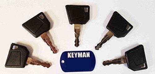 Замок зажигания (5) Keyman JCB Equipment