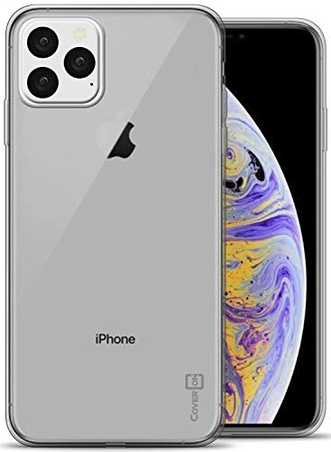 CoverON Extra Slim Fit TPU Rubber FlexGuard Series for iPhone 11 Pro Case (2019), Clear