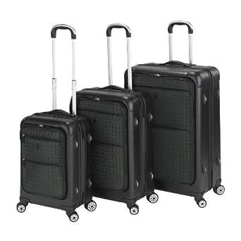 Heys Luggage Signature Collection Luggage Set, Black, One Size