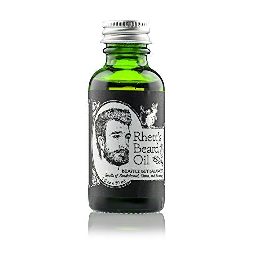 Rhetts Beard Oil sandalwood rosemary