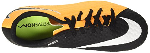 Hypervenom voetbalschoenen zwart oranje Kids laser Phelon volt zwart oranje Iii Nike 'Jr Fg EFwYfvfqp
