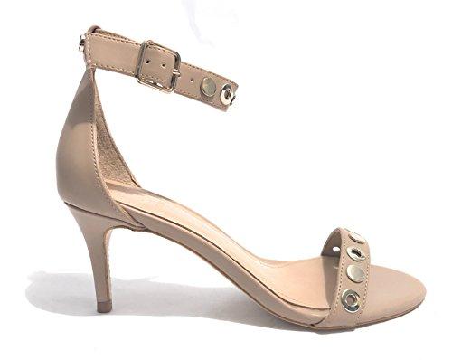 Indovina Damen Calzature Vestito Sandalo Riemchen Pompe Cammello