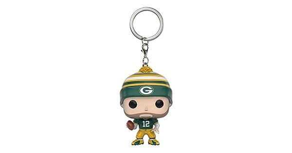 Amazon.com: Funko POP Llavero: NFL – Aaron Rodgers Figura de ...