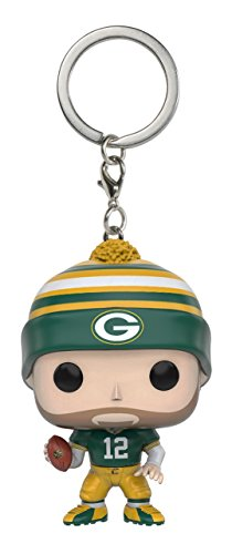 Nfl Keychain (Funko POP Keychain: NFL - Aaron Rodgers Action Figure)