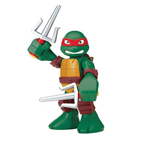 Teenage Mutant Ninja Turtles Pre-Cool Half Shell Heroes 6 Inch Raphael Talking Turtles Figure (Ninja Turtle Pizza Playset compare prices)