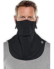 Coolibar UPF 50+ Men's Women's Vermilion UV Layered Mask - Sun Protective