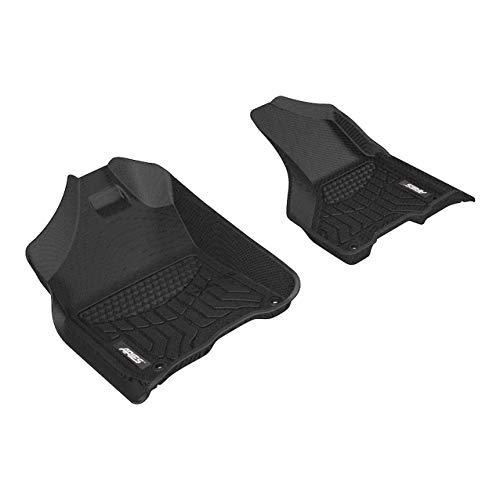 ARIES DG02011809 StyleGuard XD Black Custom Truck Floor Liners for Ram 1500, 2500, 3500, 1st Row Only