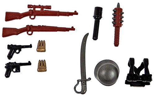 Brickarms WWI Central Powers Battle Pack (Best Weapons Of Ww1)