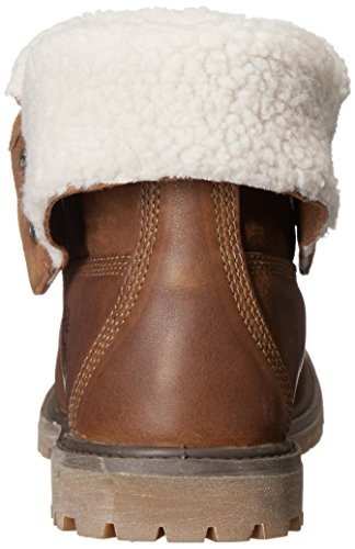 Timberland Teddy – Chaqueta de forro polar impermeable plegable para Marrón (Tobacco Forty Leather)