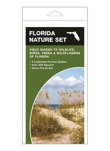 Florida Nature Set: Field Guides to Wildlife, Birds, Trees & Wildflowers of - Florida Waterford