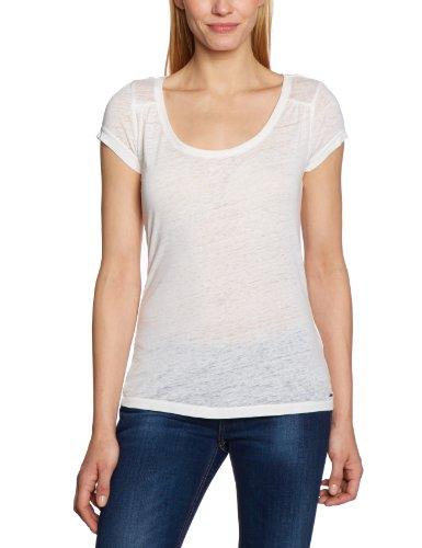 Only - Camiseta de manga corta para mujer Blanco (Cloud Dancer)