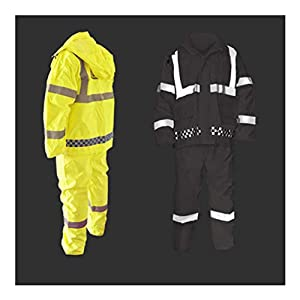 Qivor Waterproof clothing Outdoor Reflective Raincoat Raincoat Set, Suitable For Travel/festival/outdoor Activities…
