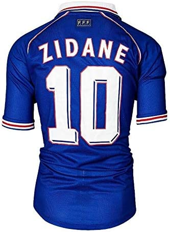 Unsigned Zinedine Zidane France 1998 Home Shirt Autograph Jersey Autographed Soccer Jerseys At Amazon S Sports Collectibles Store