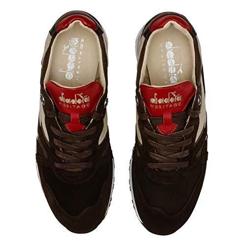 Sw H Diadora Uomo Heritage It Per S 42 Sneakers N9000 nwBRT
