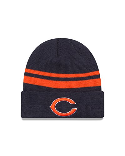 - NFL Chicago Bears Cuff Knit Beanie, One Size, Blue