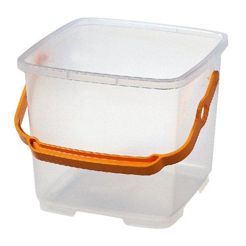 [해외]오하라 산업 물통 9L 사각 물통 투명 / Ohara Sangyo Bucket 9l square type bucket transparent