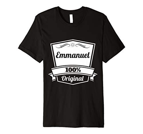 Emmanuel Gift / Emmanuel Personalized Name Birthday Premium T-Shirt