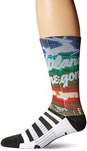 Legends novelty iconic scenic and destination printed socks, Portland, One Size