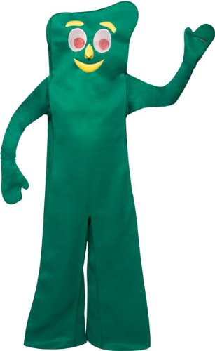 Adult's Deluxe Gumby Halloween Costume