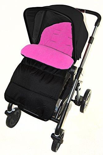 Saco/Cosy Toes Compatible con Graco Metro carrito de bebé, color rosa