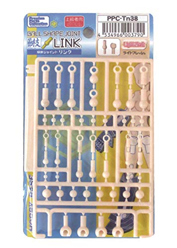 [해외]비 기반 프리미엄 파트 모음 관절 기능 천체 조인트 링크 라이트 프레쉬 프라모델 부품 PPC-Tn38 / Hobby Base Premium Parts Collection Joint Technique Sphere Joint Link Light Fresh Plastic Model Parts PPC-Tn38