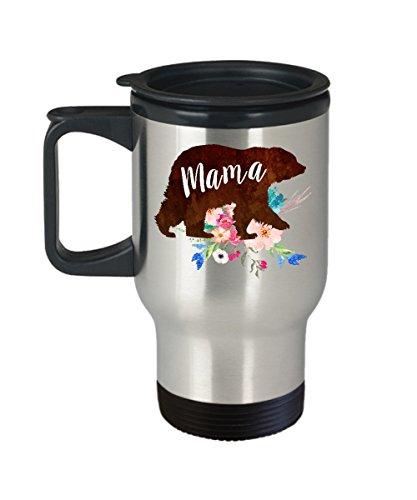Mom Travel Mug - Stainless Steel Travel Mug - Coffee Travel