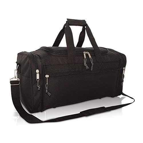 """DALIX 21"""" Blank Sports Duffle Bag Gym Bag Travel Duffel Adju"""