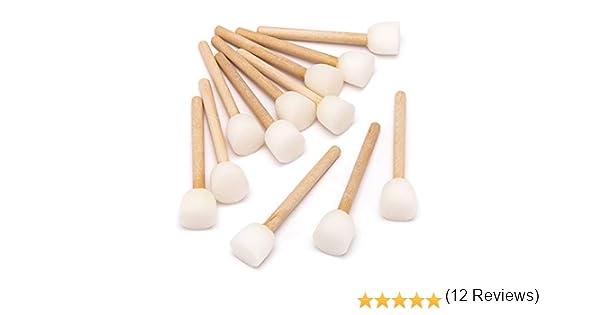 Baker Ross- Minibrocha con esponja para decoraciones (Pack de 12 ...