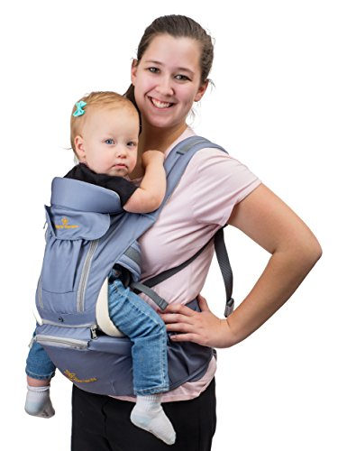 Baby Carrier 360 With Hip Seat By Brighter Elements 8 Import It All