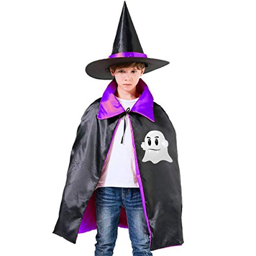 Children Halloween Ghost Vampire Teeth Halloween Party Costumes Wizard Hat Cape Cloak Pointed Cap Grils -