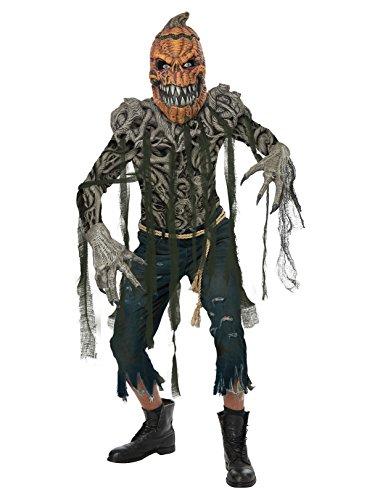 (California Costumes Men's Pumpkin Creature Adult Man, Multi, Extra)