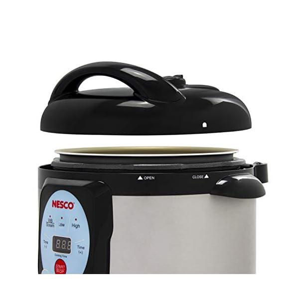 NESCO NPC-9 Smart Pressure Canner and Cooker, 9.5 quart, Stainless Steel 2