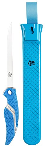 Cuda    Outdoor  Knife available in Blue - 6 inch