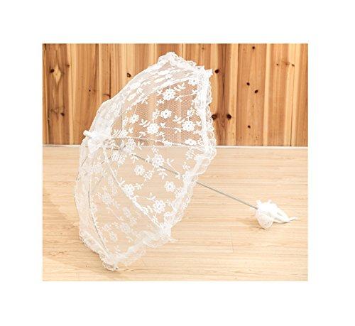 brides parasol New Pattern Battenburg Lace Vintage Umbrella Parasol For Bridal Bridesmaid Wedding by Lady Bella Wedding workshop