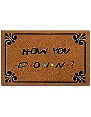SOTUVO deurmatten binnen deurmat entree mat - grappige deurmat - hoe je doet binnen buiten decoratie deurmat met duurzame rubberen achterkant