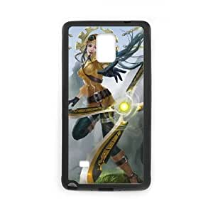 Samsung Galaxy Note 4 Cell Phone Case Black League of Legends Irelia 004 YE3411665