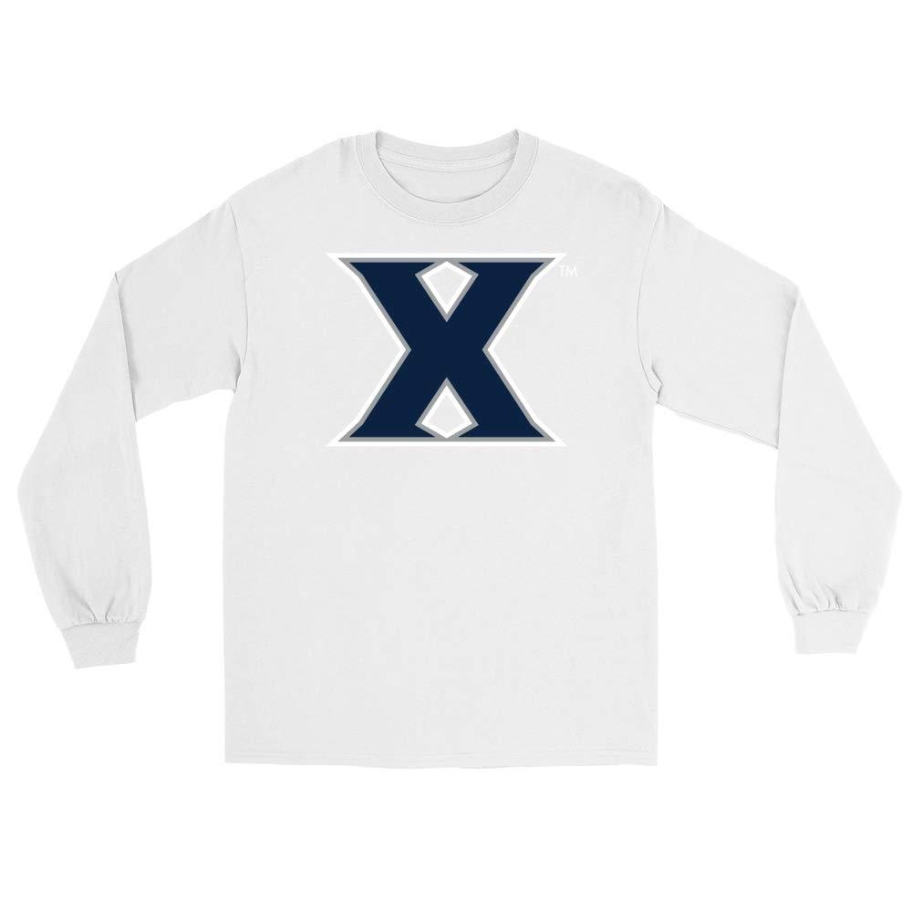 NCAA Xavier University PPXVU027 Unisex Boyfriend Long Sleeve Tee
