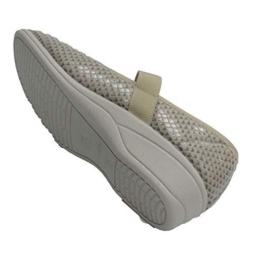 Très Cutillas Lycra Beig Doctor En Femme Large Velcro Chaussure Merceditas nTFXdxCq