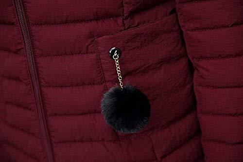 Invernale Da Pesante Capispalla Cappotto Dimensione Donna colore Caldo Sottile Fuweiencore 3xl Verde Parka E Lungo Nero 8UwSqnIAR