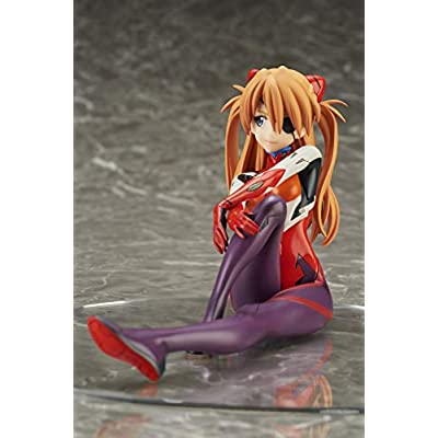 Bell Fine Evangelion: 3.0 You Can (Not) Redo: Asuka Langley (Plugsuit Version) 1: 7 Scale PVC Figure: Toys & Games