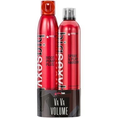 Sexy Hair Spray & Play Harder With Root Pump Plus Duo Set