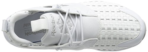 Reebok New Black steel Grey Furylite White Woven solid white AqU7z