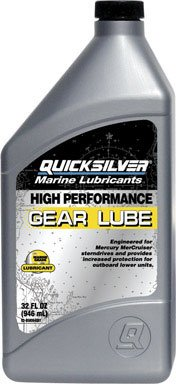 Price comparison product image Quicksilver High Performance Gear Lube Synthetic 32 Oz. Bottle