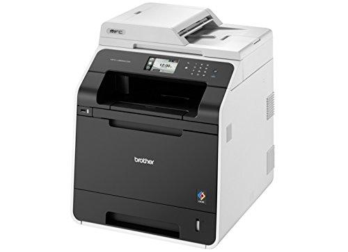 Brother MFC-L8650CDW  Professionelles 4-in-1 Farblaser-Multifunktionsgerät  grau/schwarz
