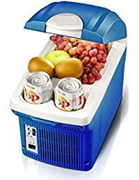 SL&BX Car refrigerator,Mini fridge small home portable dormitory refrigerator refrigerator 7.5l portable retro home,Office, Car or boat-B 30x20x27.8cm(12x8x11inch)