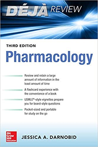 Deja Review: Pharmacology, Third Edition: Jessica Gleason