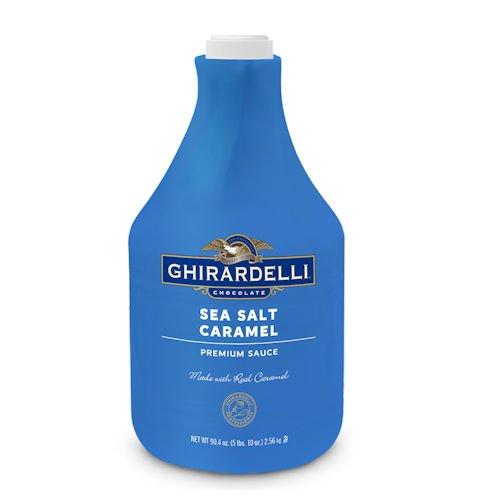 Ghirardelli Sea Salt Caramel Sauce, 90.4oz Bottle